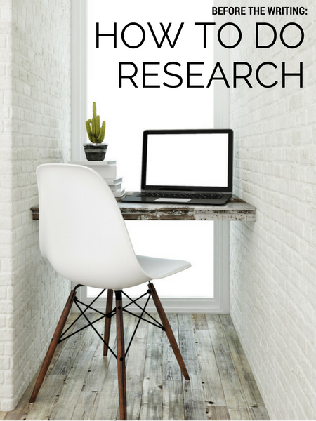 How To Do Research For A Book
