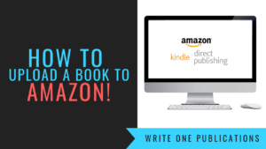 How To Upload A Book To Amazon