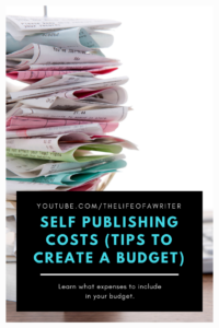 Self Publishing Cost